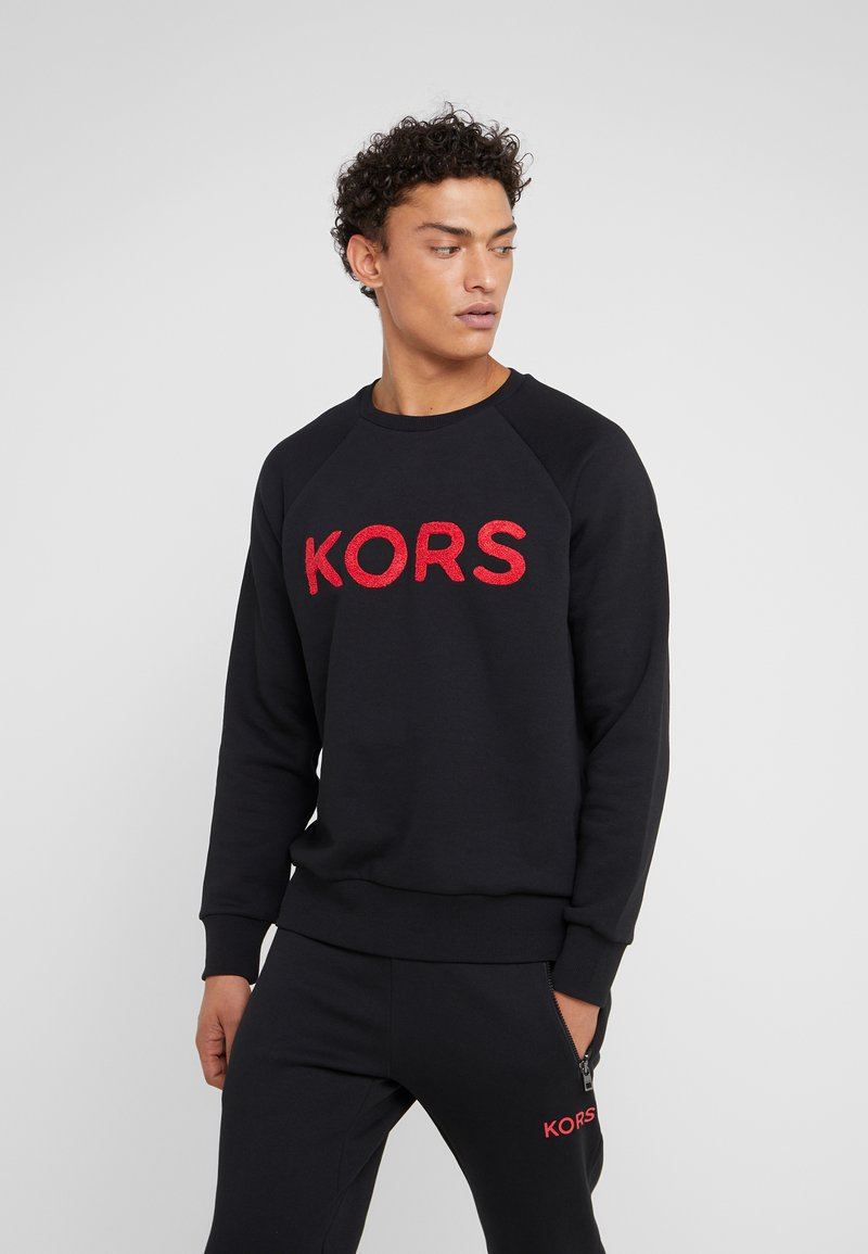 Michael Kors - TERRY LOGO - Sweatshirt - black