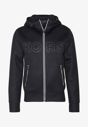 TAPED HOODIE - Sudadera con cremallera - dark midnight
