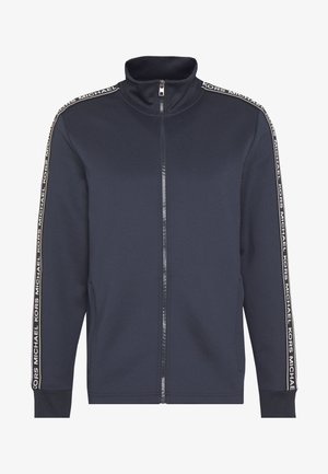 STREET LOGO - Zip-up hoodie - dark blue