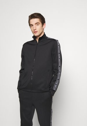 STREET LOGO - veste en sweat zippée - black