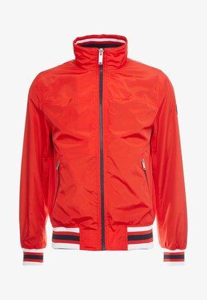 Lett jakke - bright ruby
