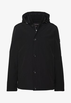 POLY FAILLE HOODY - Jas - black