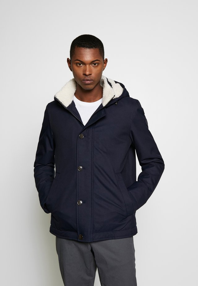 SHERPA LINED - Parka - midnight