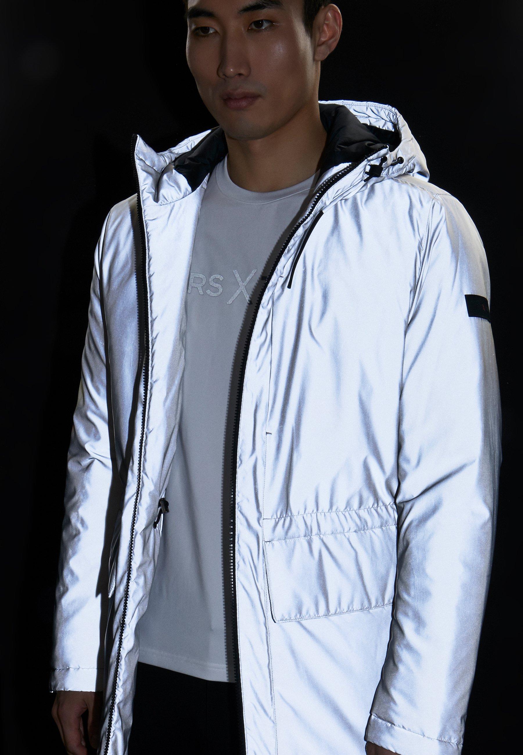 Michael Kors X Tech Reflective - Parka Silver iBZMF