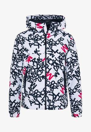 LOGO HOODY - Summer jacket - white