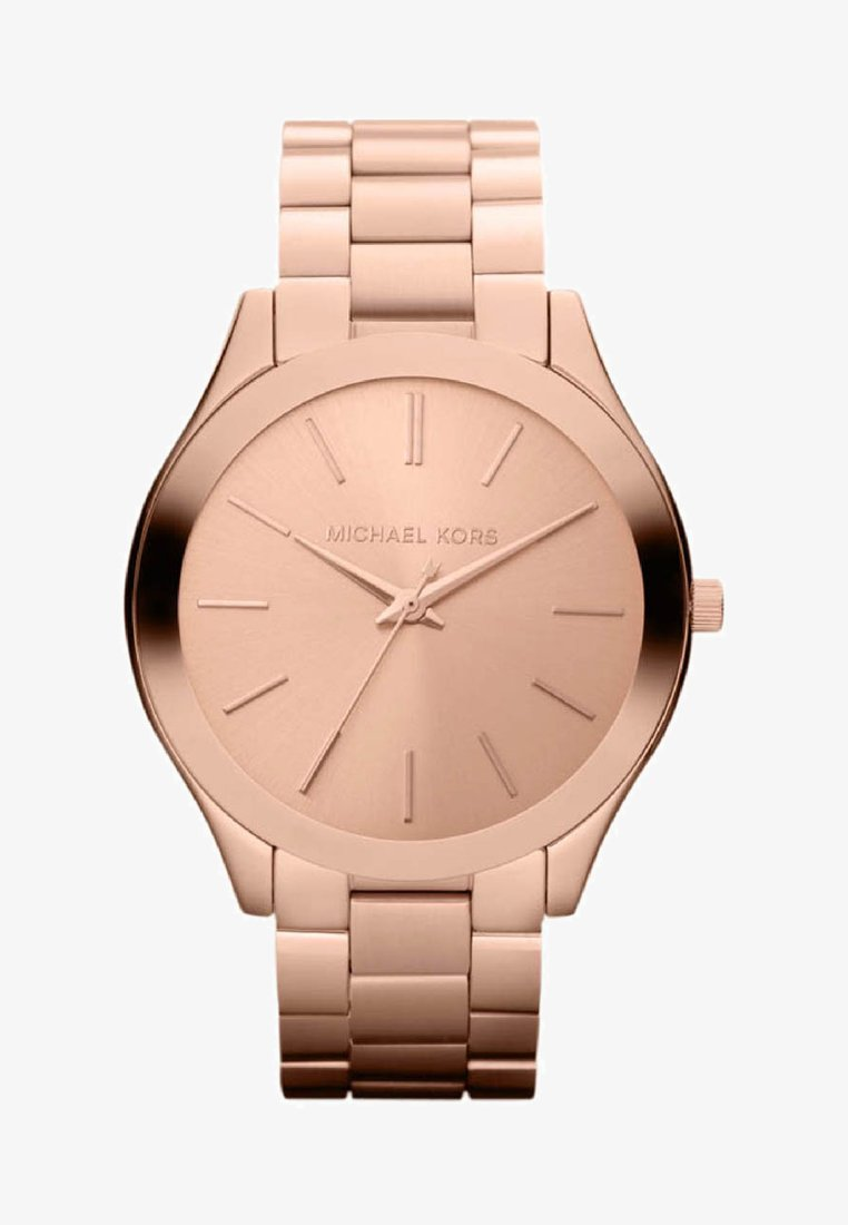 Michael Kors - SLIM RUNWAY - Reloj - rosegold-coloured