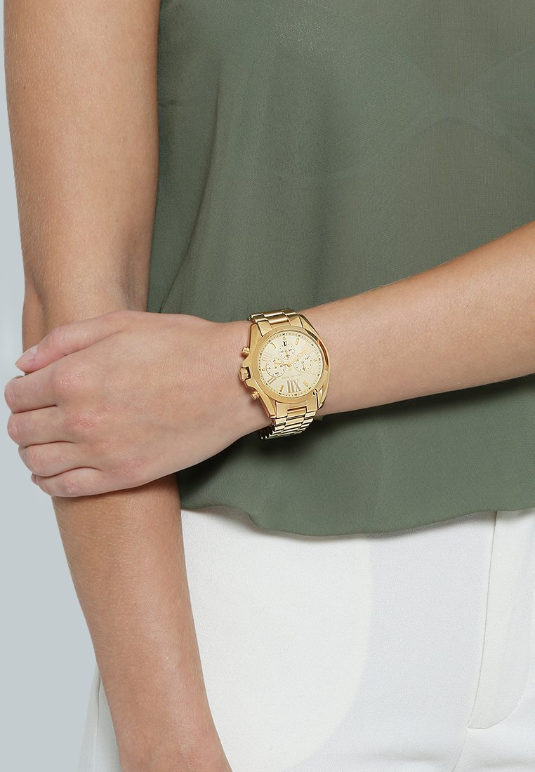 Michael Kors - BRADSHAW - Chronograph watch - gold-coloured
