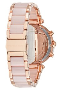 Michael Kors - PARKER - Chronograaf - rosegold-coloured/puder - 2