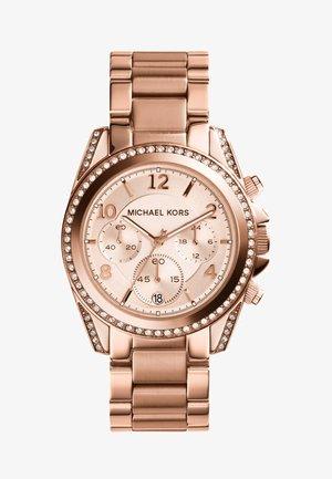 BLAIR - Chronograph watch - roségold-coloured