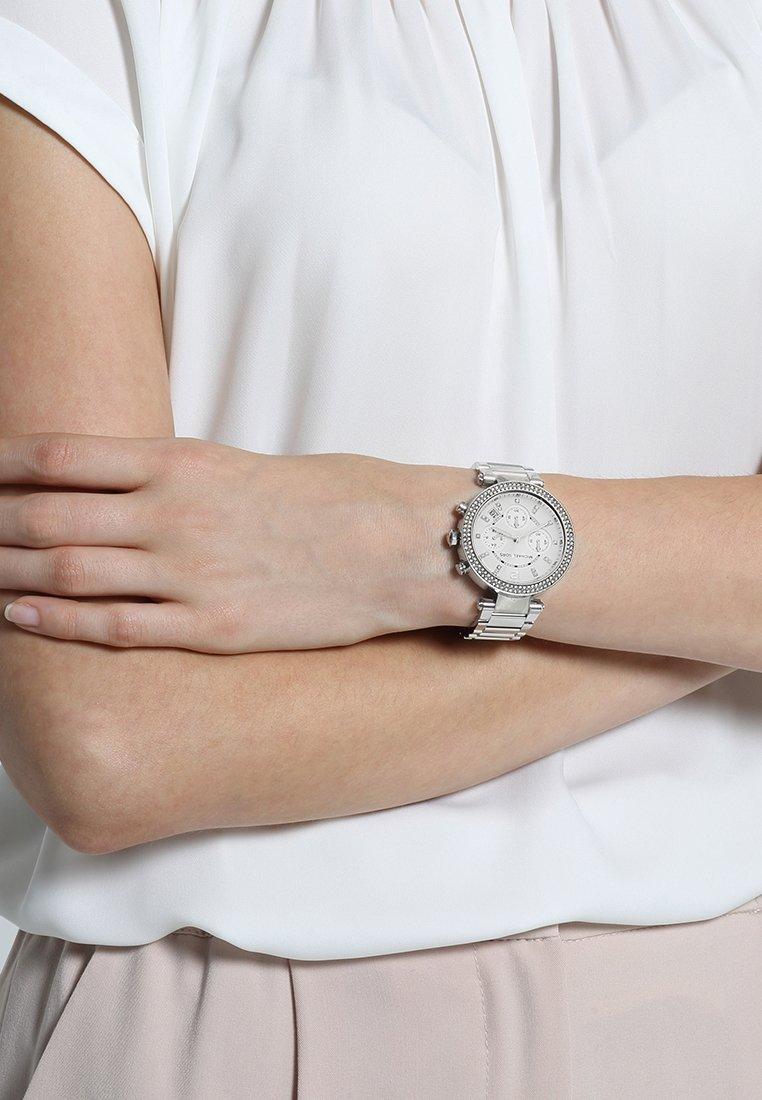 Michael Kors - PARKER - Montre à aiguilles - silver-coloured