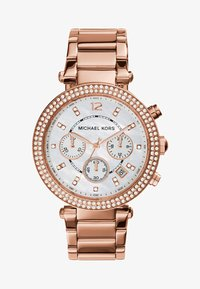 Michael Kors - PARKER - Hodinky - rosegold-coloured - 1