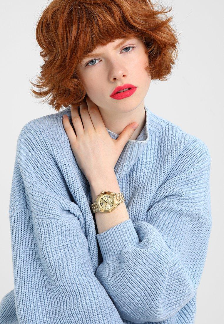 Michael Kors - BRADSHAW - Chronograph watch - gold-coloured