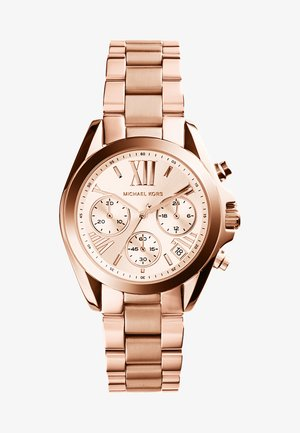 BRADSHAW MINI - Chronograph watch - rosegold-coloured