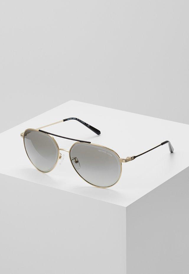 ANTIGUA - Okulary przeciwsłoneczne - shiny pale gold-coloured