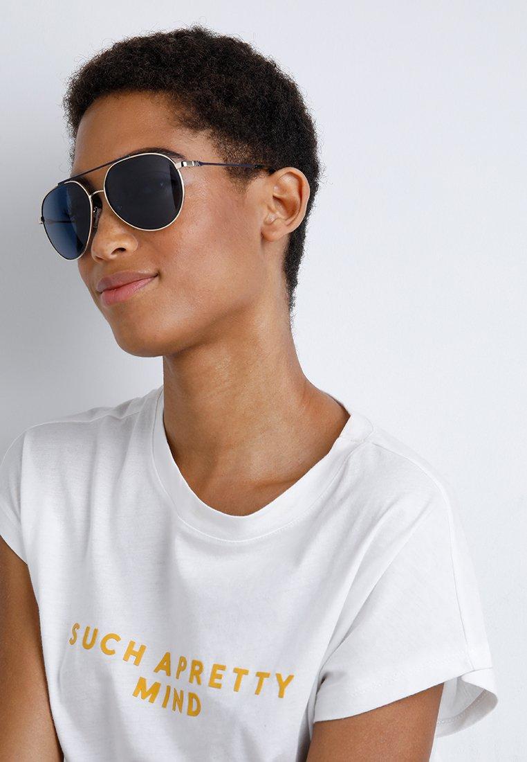 Michael Kors ANTIGUA Okulary przeciwsłoneczne shiny pale