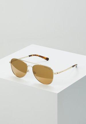 SAN DIEGO - Sluneční brýle - light gold-coloured