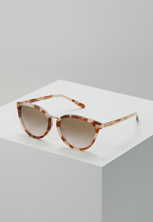 Sunglasses - milky coral tort