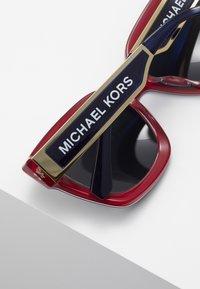 Michael Kors - Occhiali da sole - dark grey/mirror green - 4