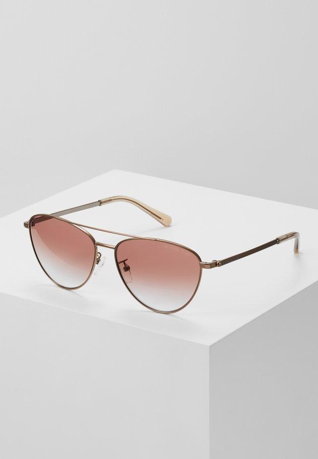 Okulary przeciwsłoneczne - brown mink