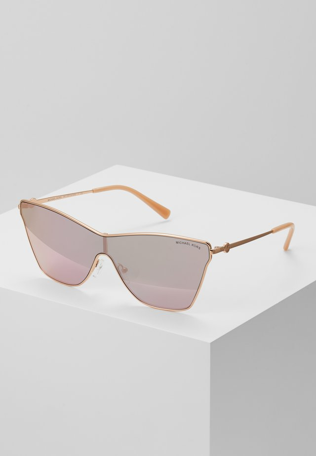 Sunglasses - rose gold-coloured