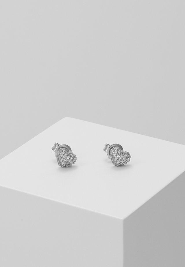 PREMIUM - Øredobber - silver-coloured