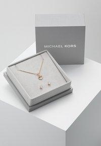 Michael Kors - PREMIUM SET - Ohrringe - roségold-coloured - 3