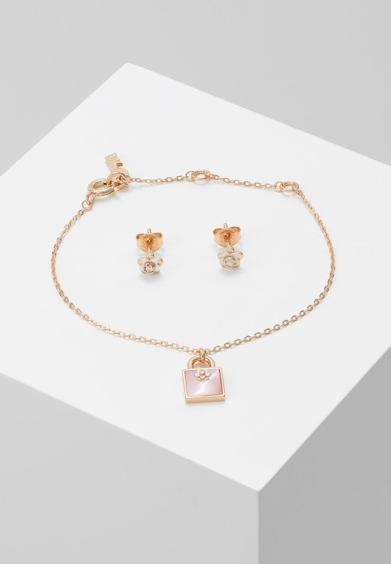 Michael Kors - PREMIUM SET - Ohrringe - roségold-coloured