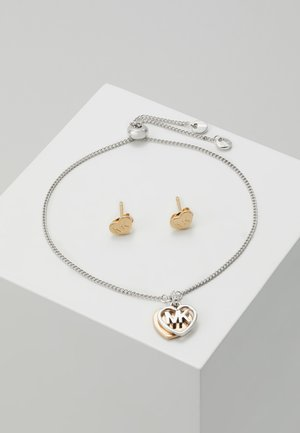 PREMIUM SET - Earrings - silver-coloured/rose gold-coloured