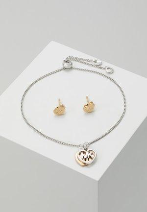 PREMIUM SET - Kolczyki - silver-coloured/rose gold-coloured
