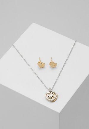 PREMIUM SET - Halskette - silver-coloured/rose gold-coloured