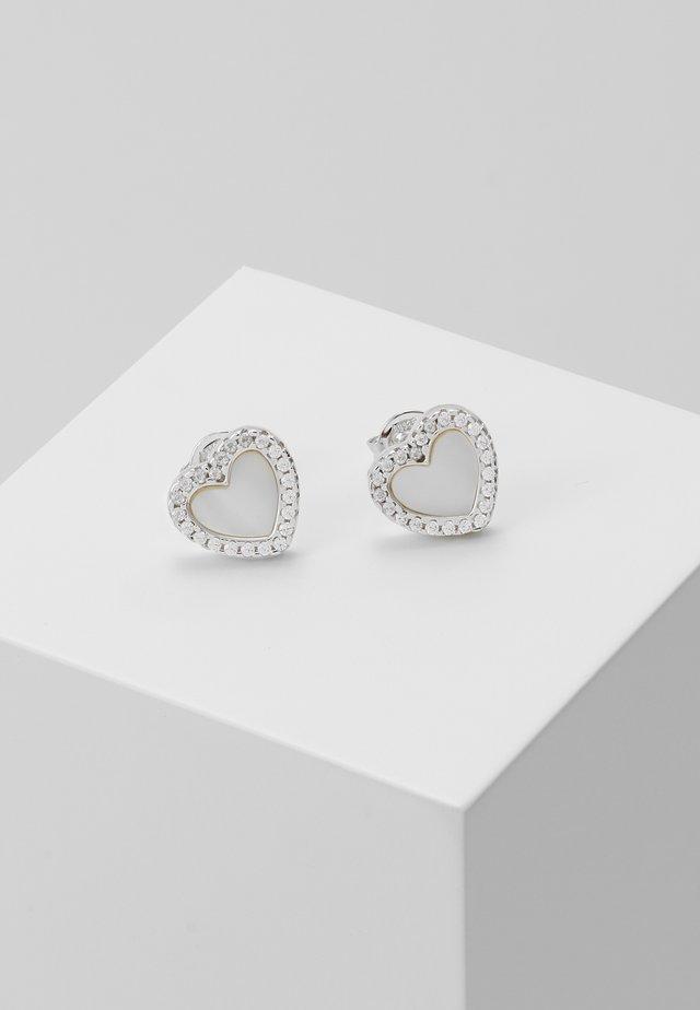 PREMIUM - Náušnice - silver-coloured
