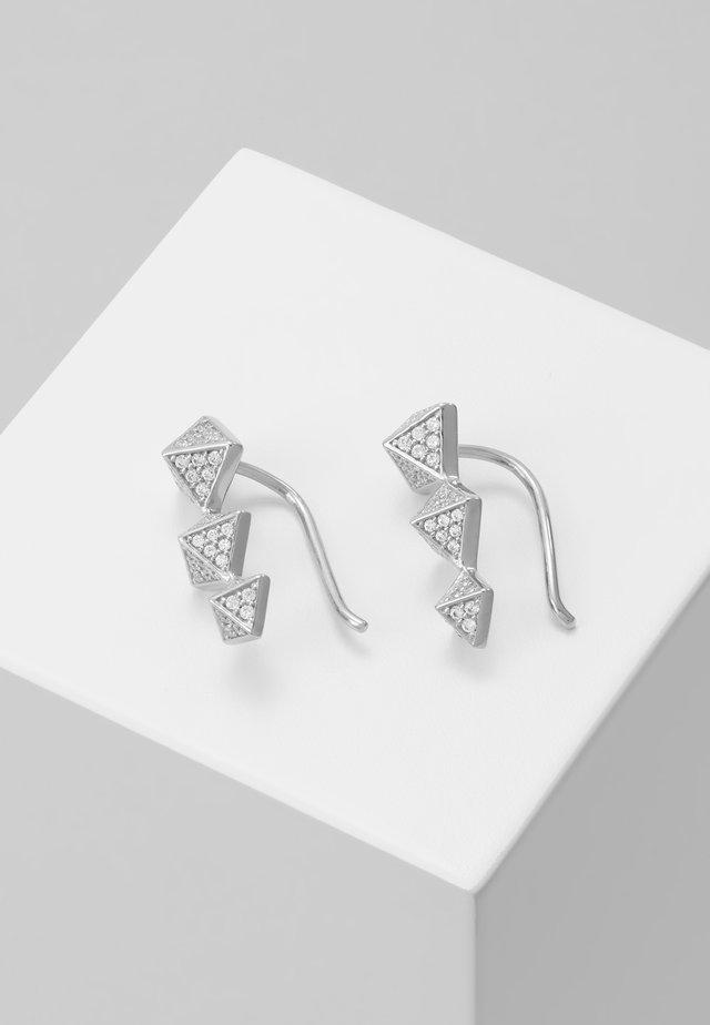 PREMIUM - Náušnice - silver
