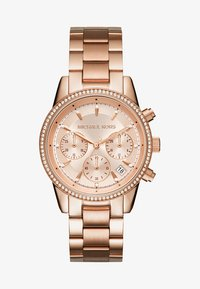 Michael Kors - RITZ - Rannekello ajanottotoiminnolla - rose gold-coloured - 1