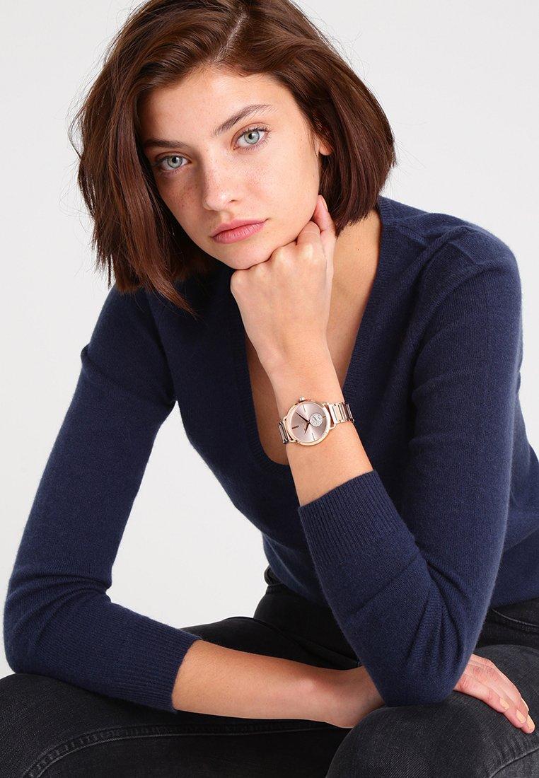 Michael Kors - PORTIA - Horloge - roségold-coloured
