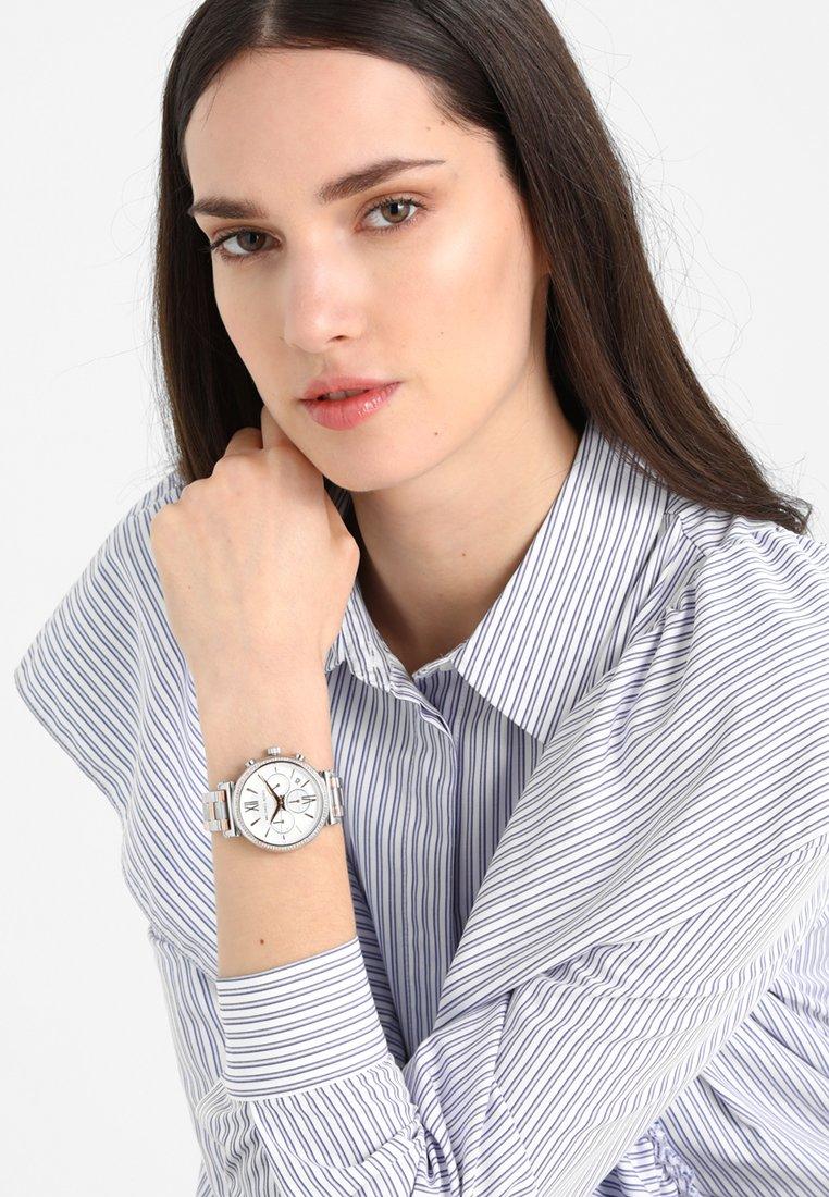Michael Kors - SOFIE - Horloge - silver-coloured/rose gold-coloured