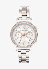 Michael Kors - SOFIE - Horloge - silver-coloured/rose gold-coloured - 1