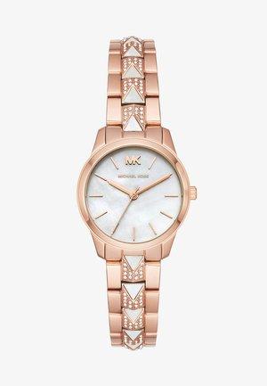 RUNWAY MERCER - Horloge - roségold-coloured