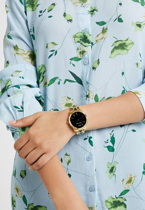 RUNWAY MERCER - Uhr - gold-coloured/schwarz