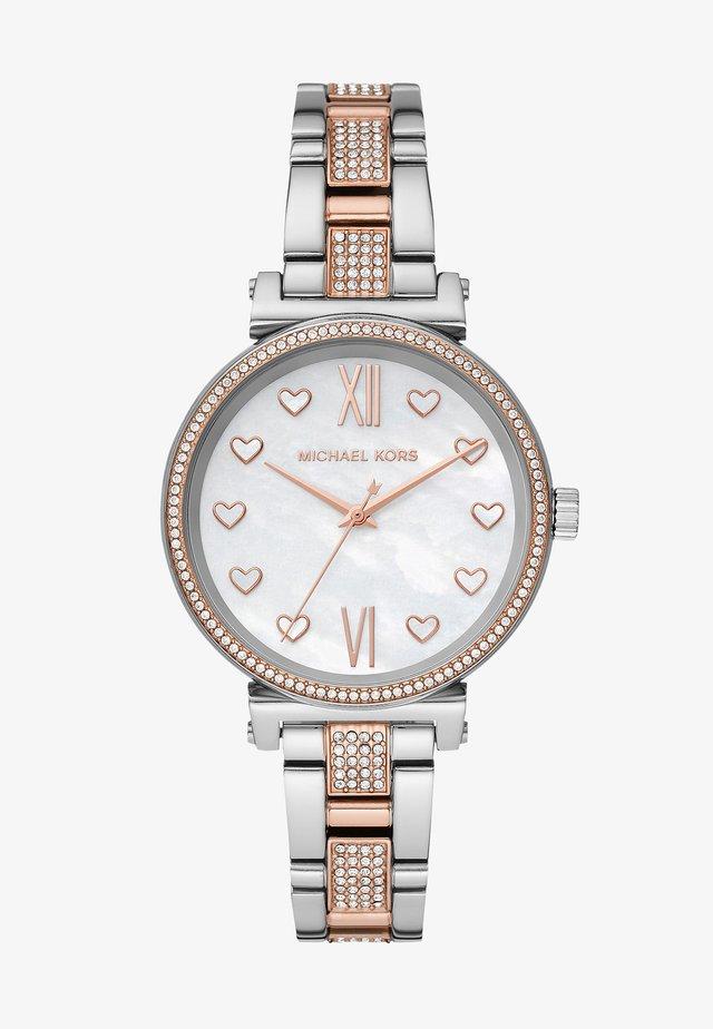 SOFIE - Horloge - silver-coloured/rose gold-coloured