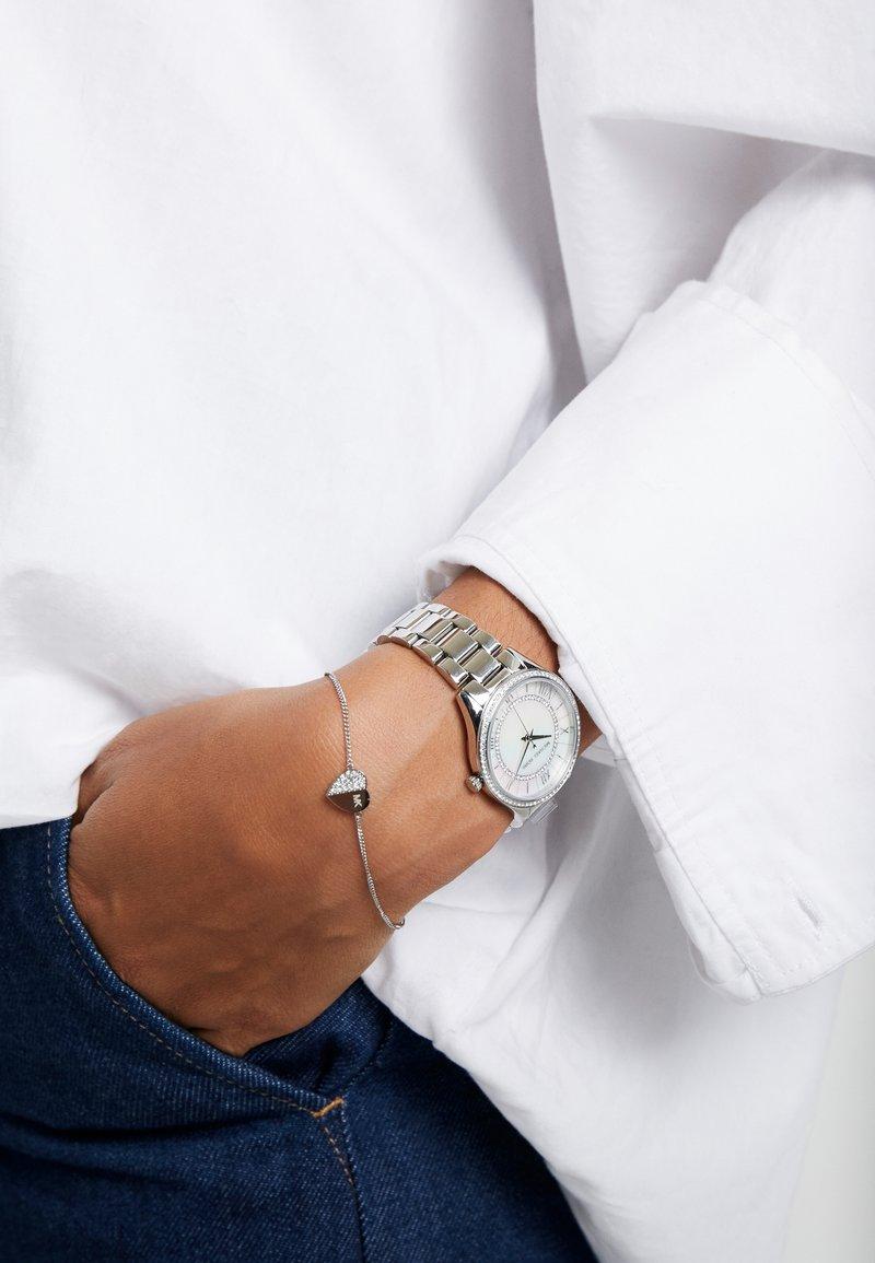 Michael Kors - LAURYN SET - Uhr - silver-coloured