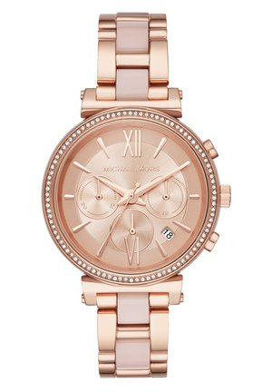 Chronograph watch - rose gold
