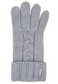 Michael Kors - STRIPED CABLE GLOVE - Hansker - heather grey - 2