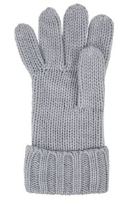 Michael Kors - STRIPED CABLE GLOVE - Hansker - heather grey - 3