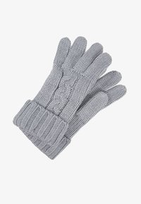 Michael Kors - STRIPED CABLE GLOVE - Hansker - heather grey - 1