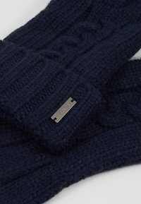Michael Kors - STRIPED CABLE GLOVE - Gloves - midnight - 4