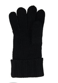Michael Kors - STRIPED CABLE GLOVE - Gloves - black - 3
