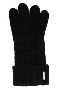 Michael Kors - STRIPED CABLE GLOVE - Gloves - black - 2