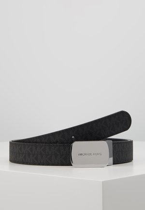 PLAQUE BELT - Pasek - black