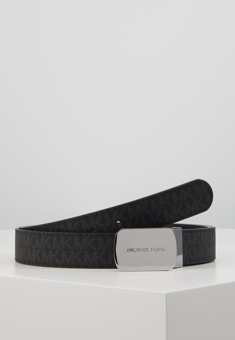 Michael Kors - PLAQUE BELT - Cintura - black