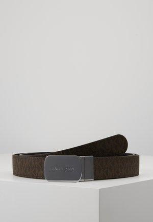 Pásek - brown/black